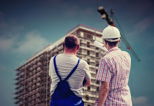 Building Professional Employee Builder Worker