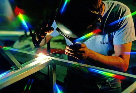 Welder Welding Work
